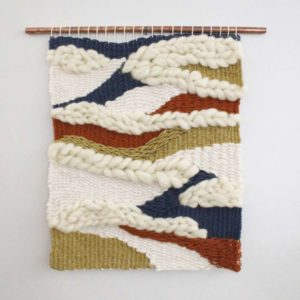 wooven wall hanging
