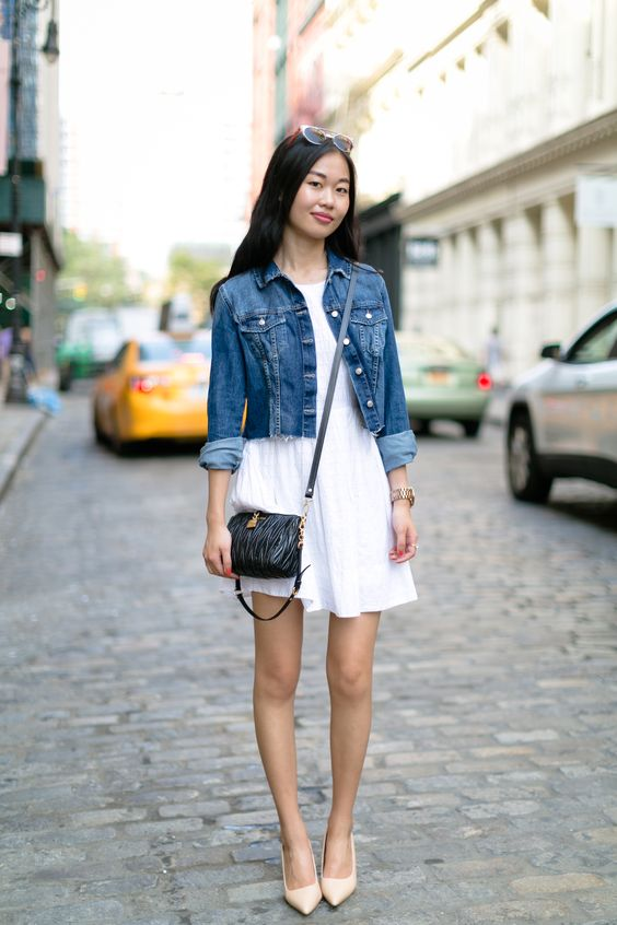 c8e9aef029 Fashionista  Four Ways to Wear Your Little White Dress