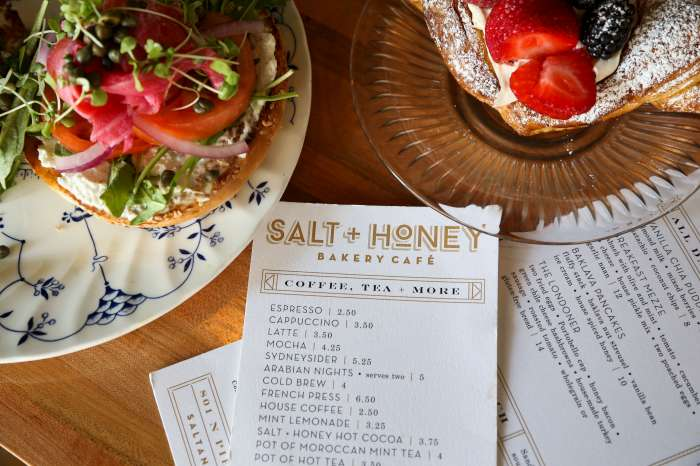 The City Spaces magazine A Taste of Salt and Honey