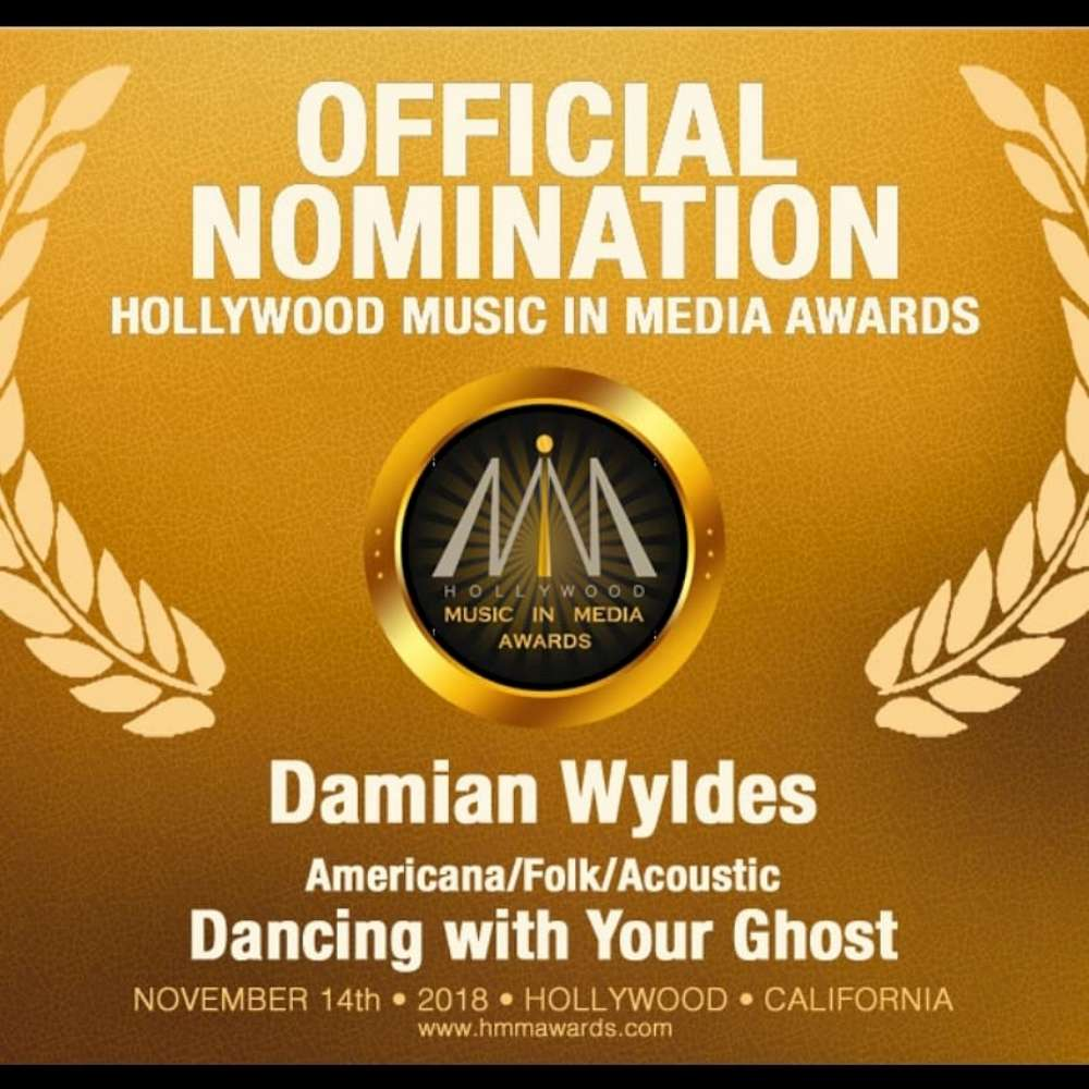 Local Howlin' Hero Damian Wyldes Nominated for Major Awards