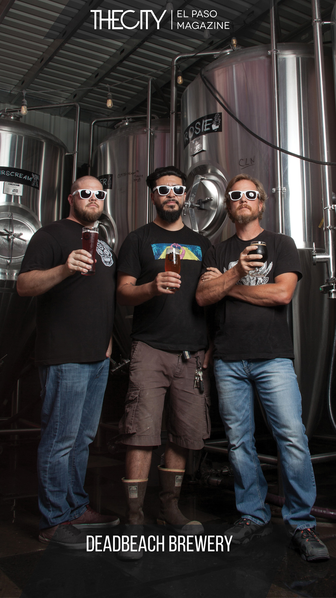 LOCALLY OWNED BUSINESS: DEADBEACH BREWERY