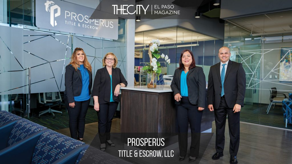 LOCALLY OWNED BUSINESS: PROSPERUS TITLE & ESCROW LLC