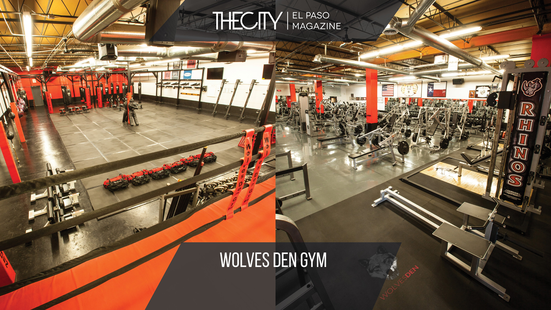 PERSONAL TRANSFORMATION: WOLVES DEN GYM