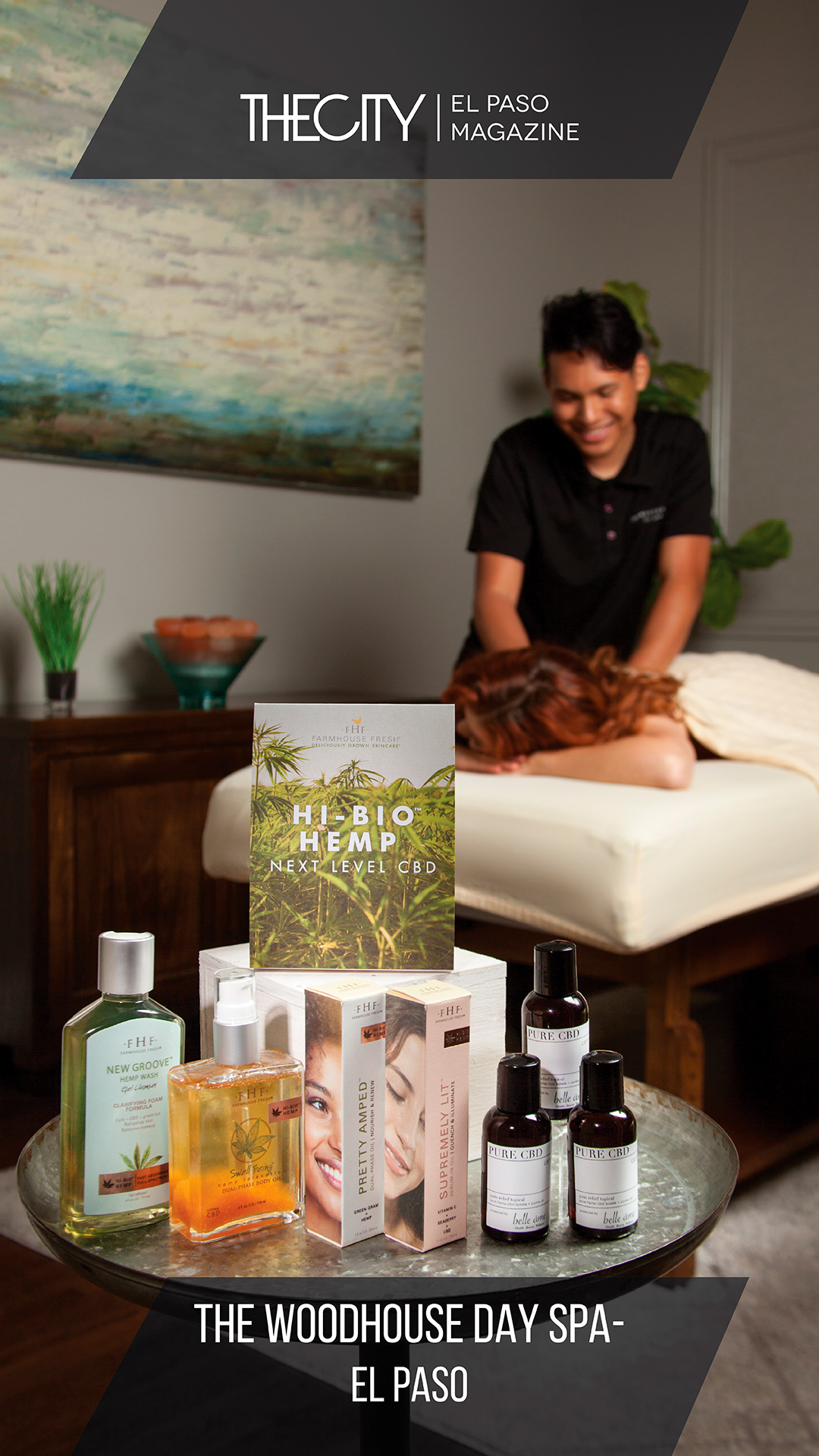 Healthcare Professionals:  The woodhouse day spa- el paso