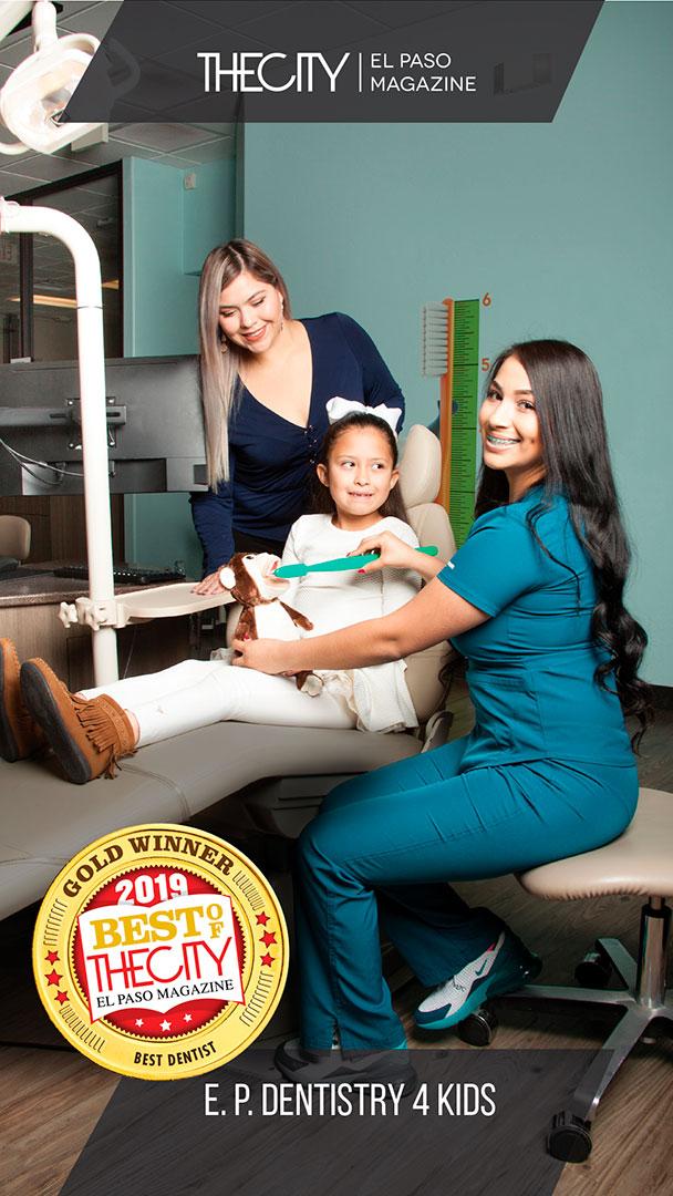 Gold Winners: E.P. Dentistry 4 Kids