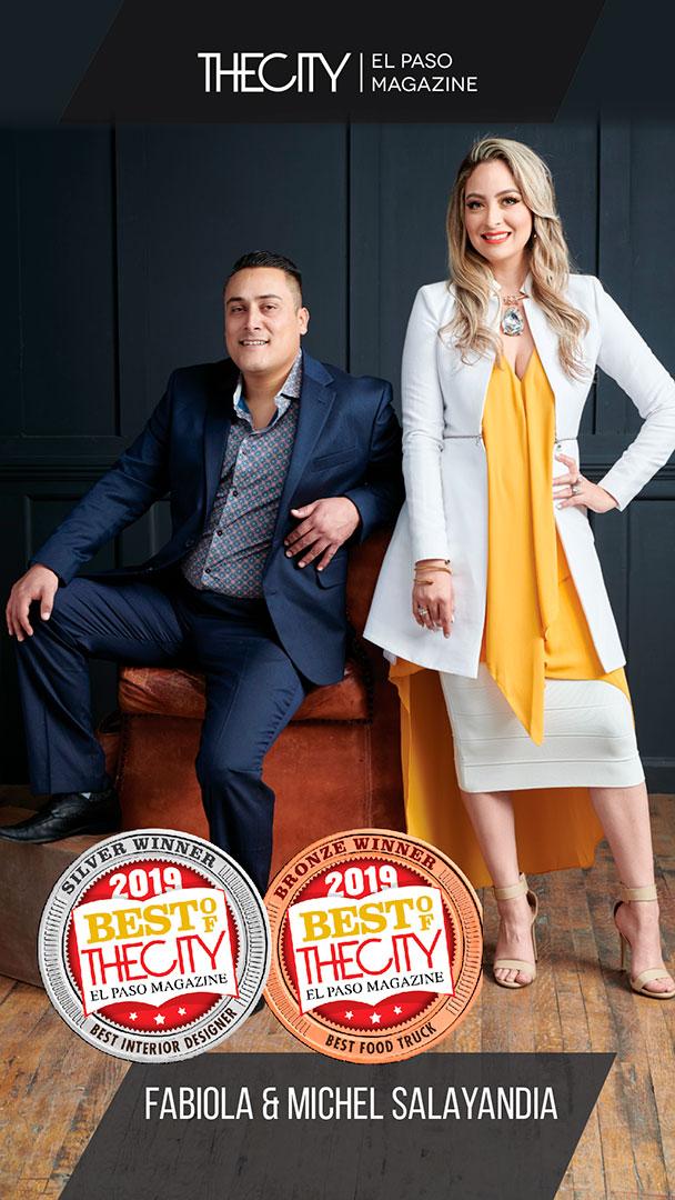 Silver Winners: Fabiola & Michel Salayandia