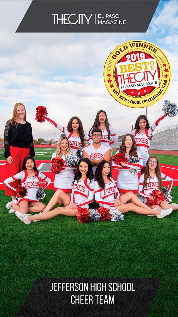 Gold Winners: Jefferson High School Cheer Team