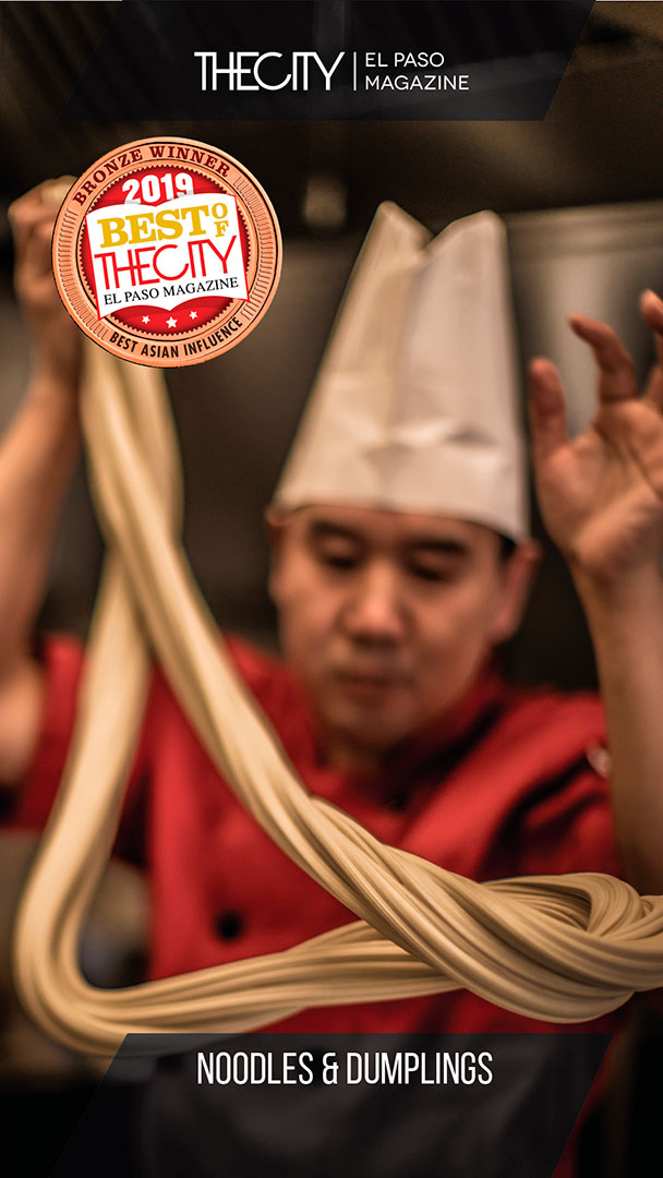 Bronze Winners: Noodles & Dumplings