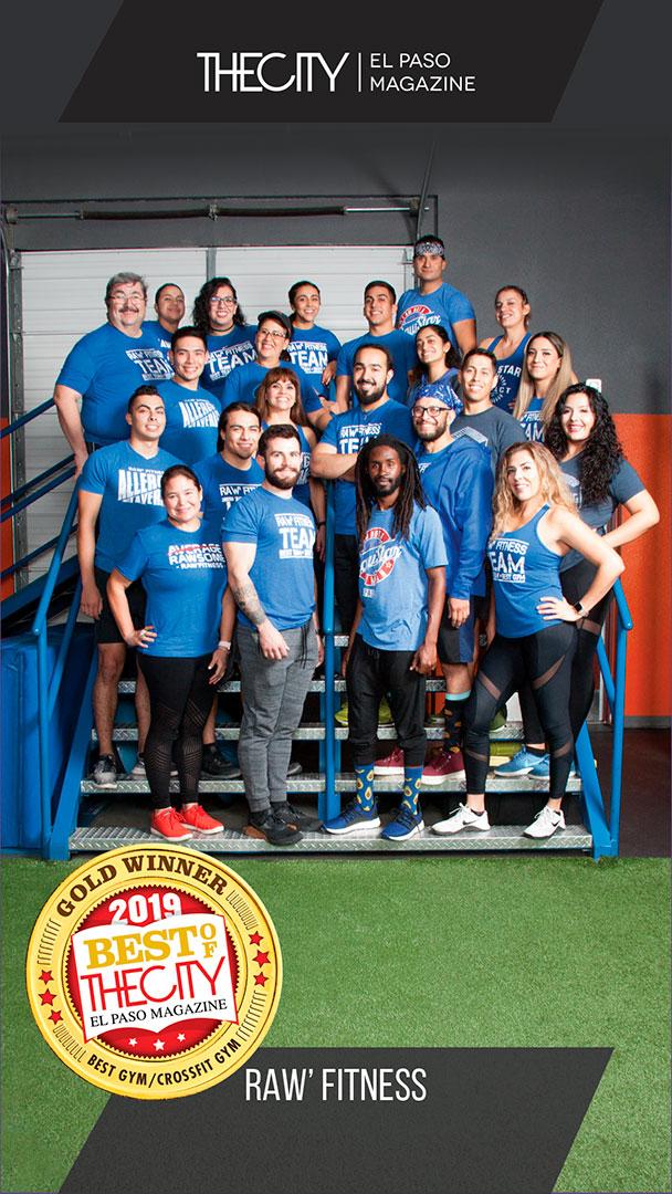Gold Winners: Raw'Fitness