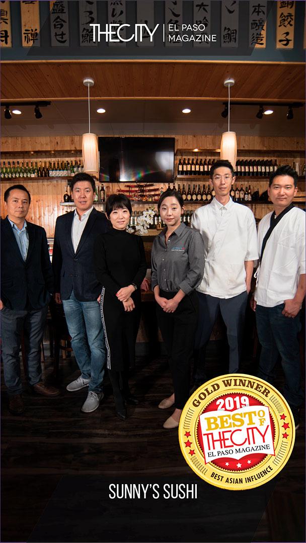 Gold Winners: Sunny's Sushi